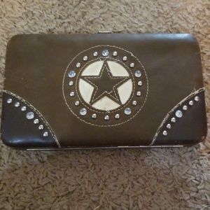 Texan Leather Wallet.